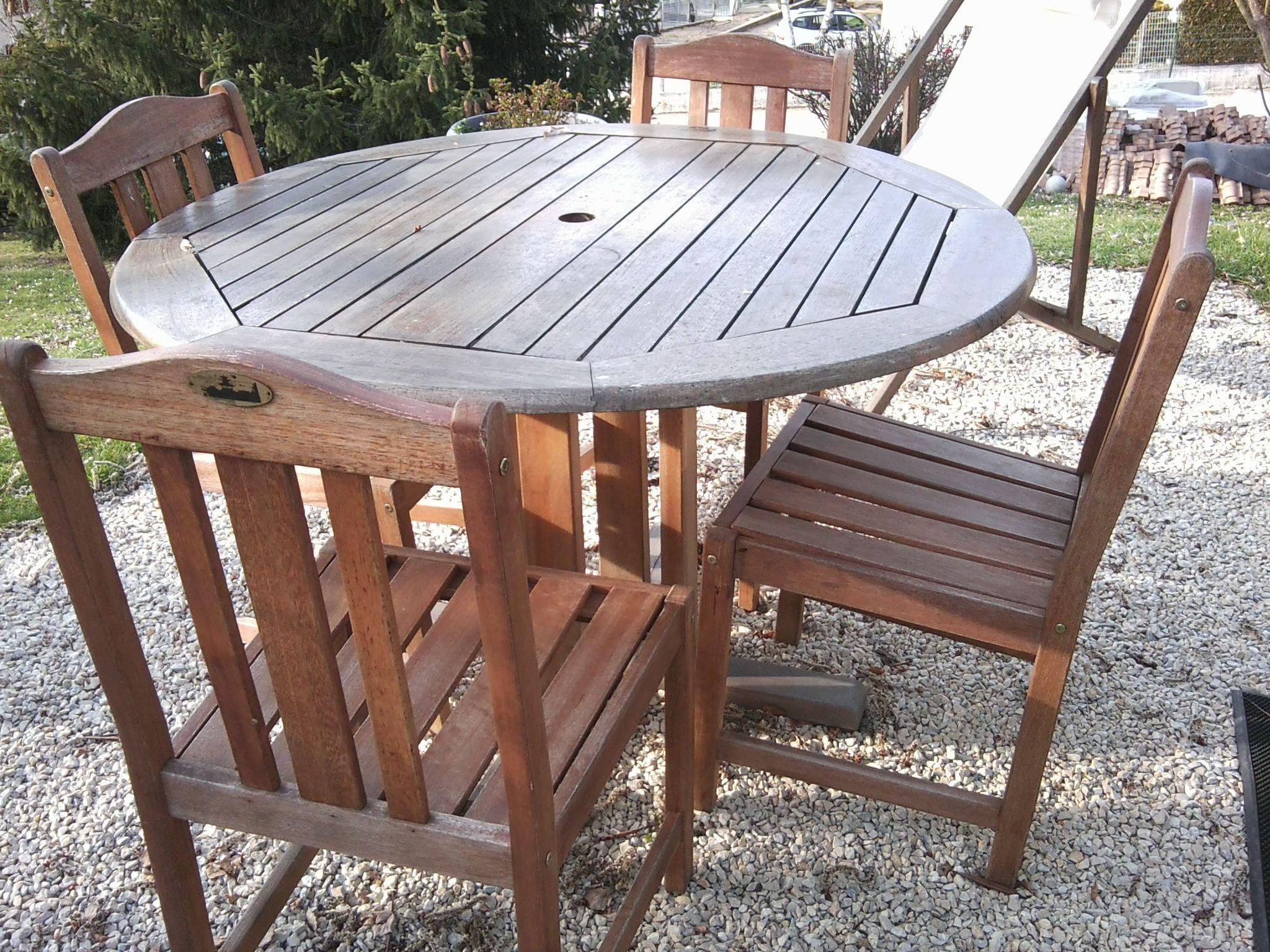 table bois jardin leroy merlin. Black Bedroom Furniture Sets. Home Design Ideas
